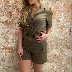 Nikkie Lizzy Playsuit Army