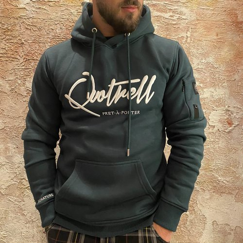 Quotrell Signature Hoodie Green