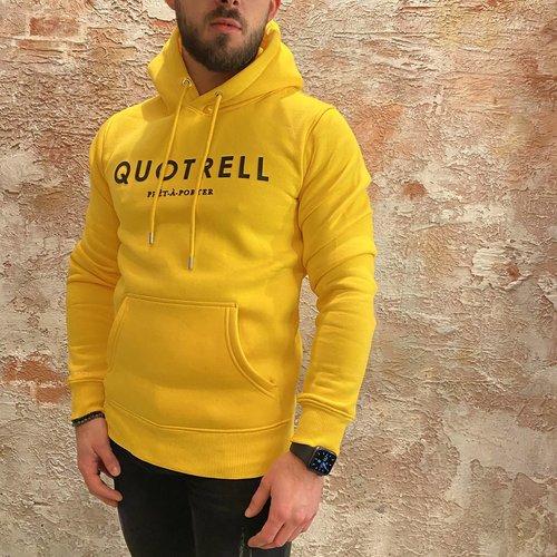 Quotrell Basic Hoodie Yellow