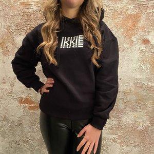 Nikkie Back Stripe hoodie black