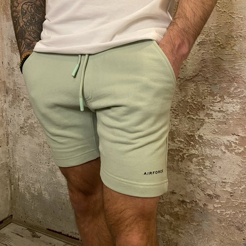 Airforce Short Sweat Pants green
