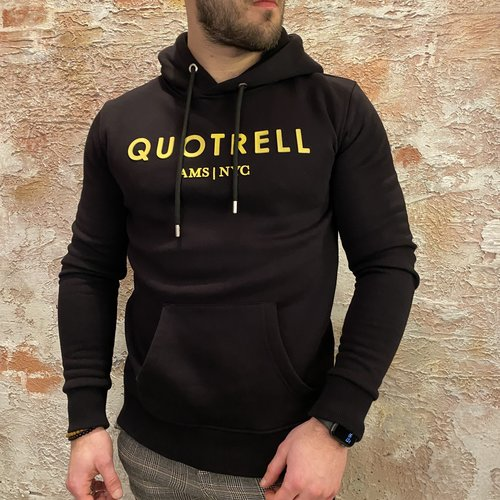 Quotrell hoodie uniform black yellow
