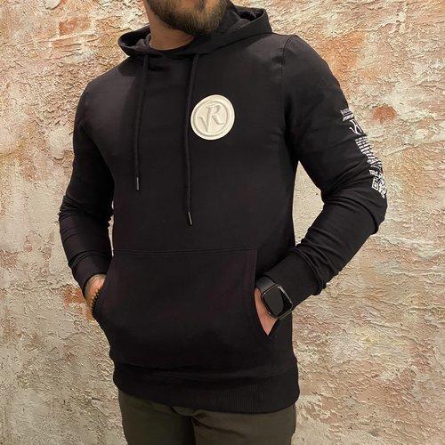 Radical Hoodie Badge Black