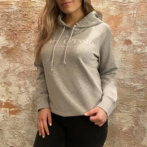 Marc O'polo Grey melange hoodie