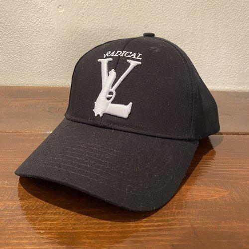 Radical Radical logo cap zwart