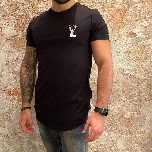 Radical Radical Gun logo t-shirt zwart