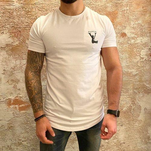 Radical Radical Gun logo t-shirt white