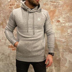 SikSilk Basic logo hoodie grey