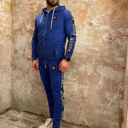 Quotrell General tracksuit compleet blauw