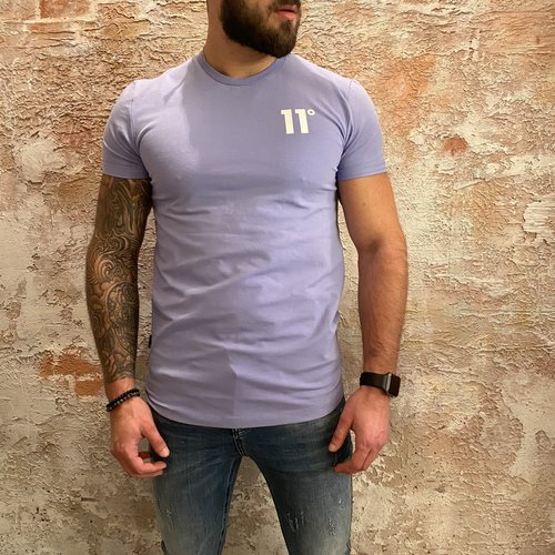 11 degrees Muscle fit t-shirt lila