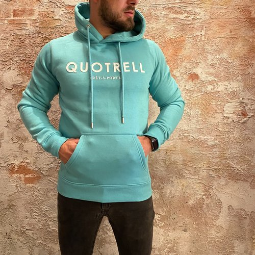 Quotrell Basic hoodie mint