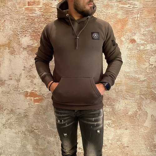 Quotrell Commodore Hoodie Army green