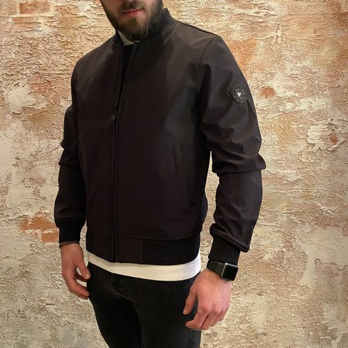 Airforce Softshell Bomber true black