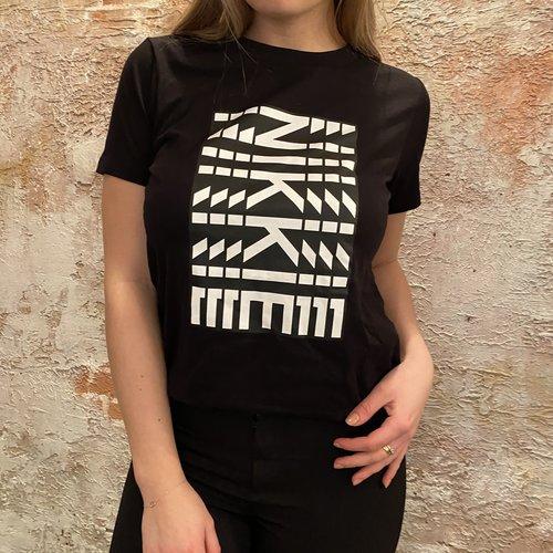 Nikkie New t-shirt zwart