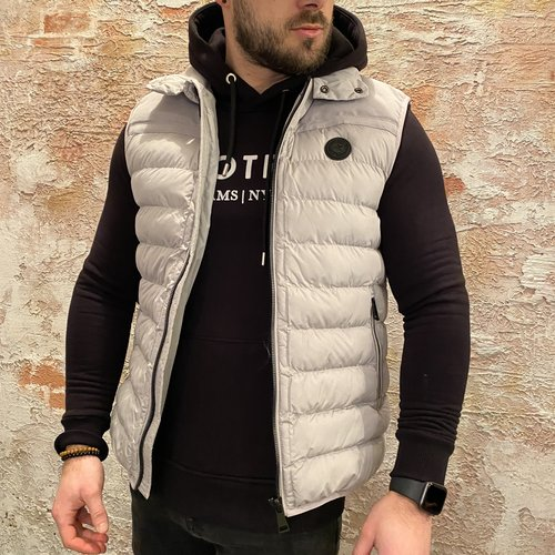 Airforce Bodywarmer padded grijs