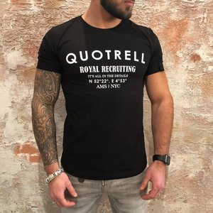 Quotrell Royal tee black