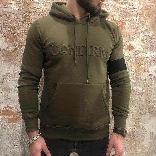 Confirm Logo Hoodie groen