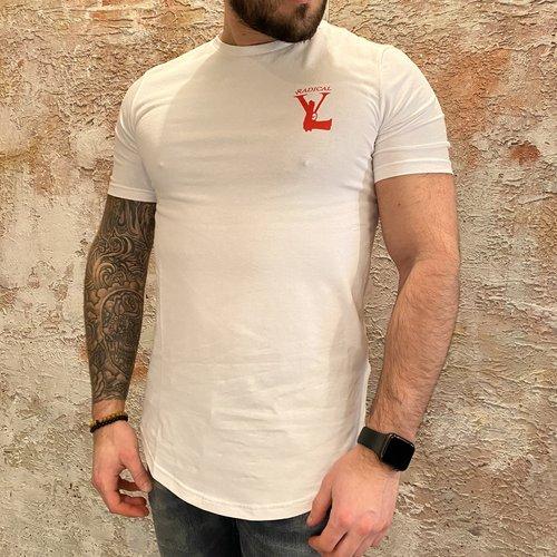 Radical Lucio t-shirt gun white red