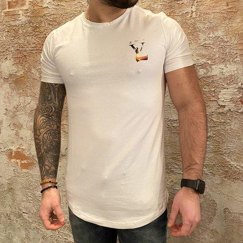 Radical Lucio t-shirt palm white