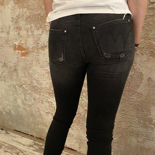 MET jeans Kate EE black medium high