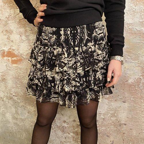 Nikkie Fay-Lee Ruffle Skirt Black