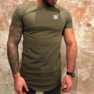 SikSilk Short Sleeve Gym Tee Green