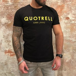 Quotrell Black Yellow Tee