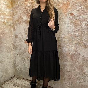 Have2have jurkjes Long dress zwart
