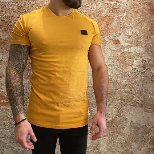 Antony Morato Stretch t-shirt geel