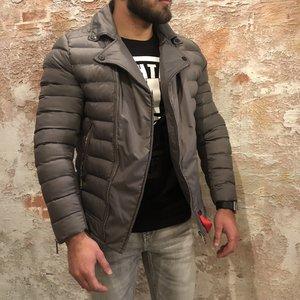 Xplct Padded jacket grey
