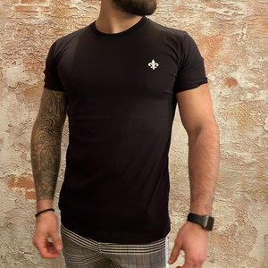 richesse T-shirt zwart money