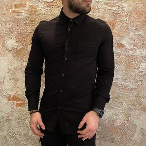 Antony Morato Stretch overhemd zwart