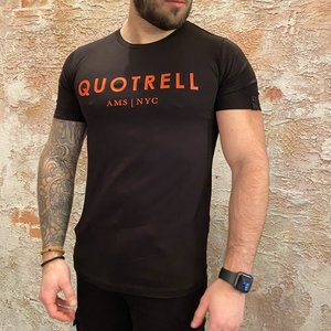 Quotrell Quotrell t-shirt black red