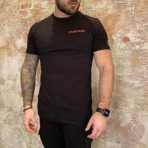Sustain Worlds Regular tshirt black