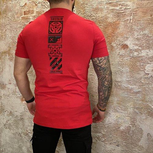 Sustain Techwave Regular tshirt red