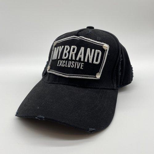 MyBrand Cap zwart zilver