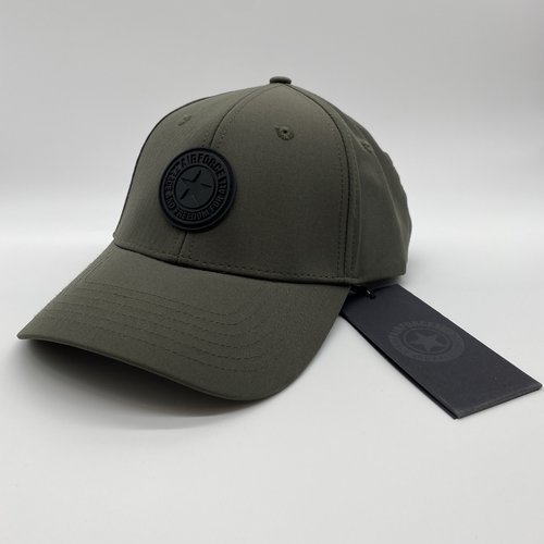 Airforce Cap Groen logo