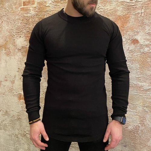 Radical Pullover zwart lang