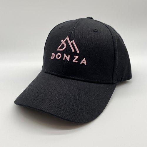 Donza Donza cap zwart/roze