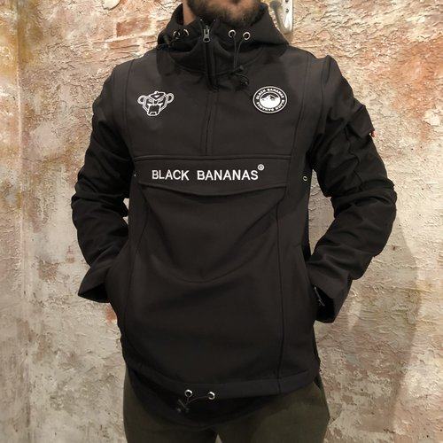 Black Bananas Anorak Fleece jacket