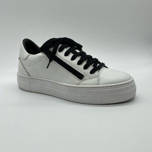 Antony Morato Sneaker wit zip zwart