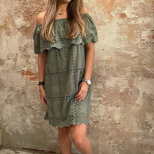 Have2have jurkjes Summer dress green