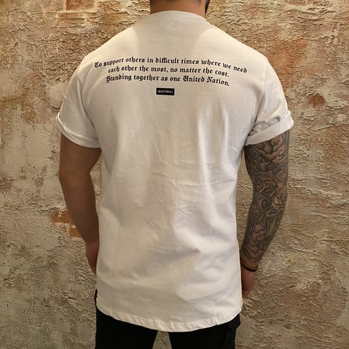 Quotrell Unity t-shirt white