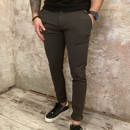 Solid Skinny Pant green