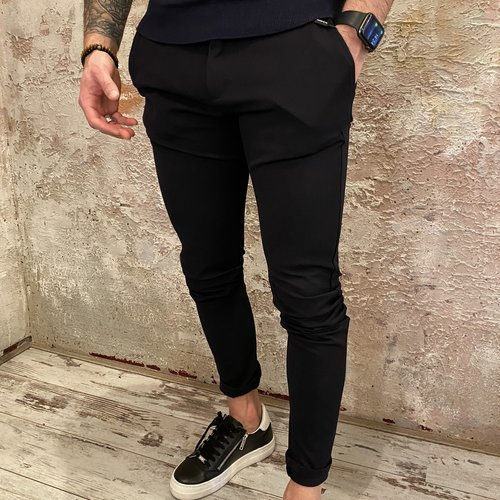 Solid Skinny Pant blue insignia