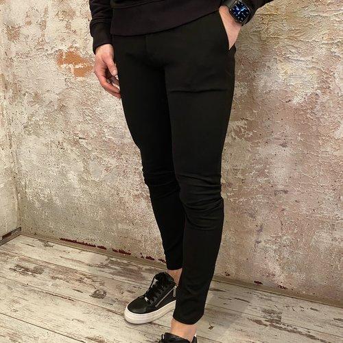 Solid Skinny Pant black