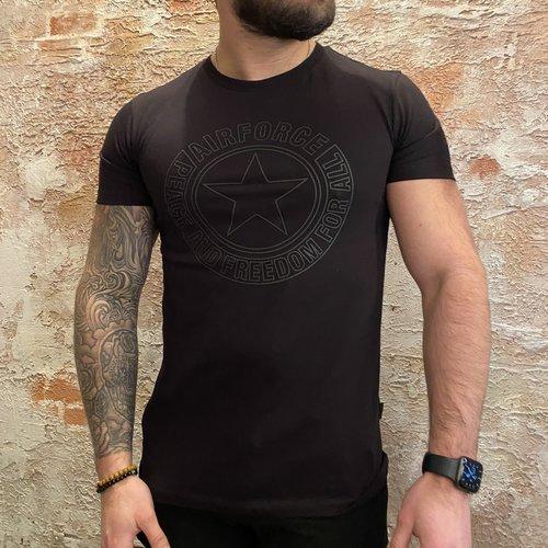 Airforce Outline Logo t-shirt Black