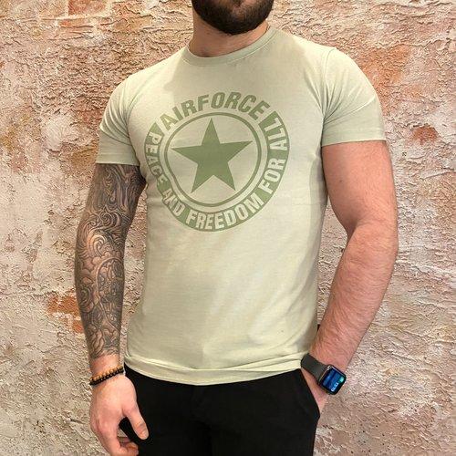 Airforce Logo t-shirt Laurel Green