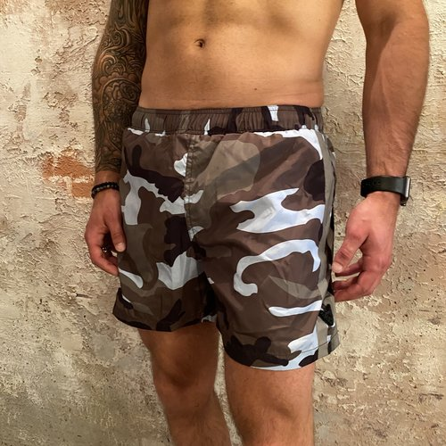 Airforce Swimshort camo blue