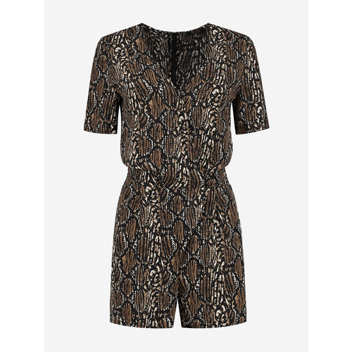 Nikkie Reilly Playsuit brown